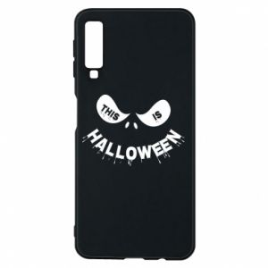 Phone case for Samsung A7 2018 This is halloween - PrintSalon