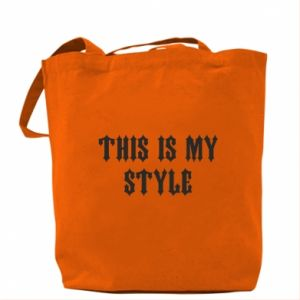 Torba This is my STYLE