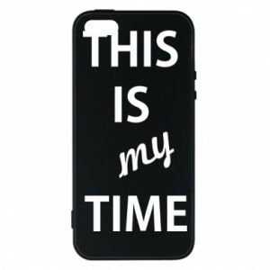 Etui na iPhone 5/5S/SE This is my time