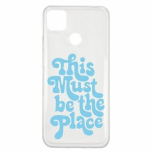 Etui na Xiaomi Redmi 9c This must be the place