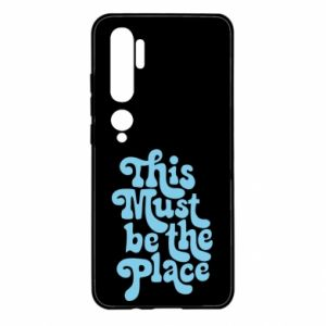 Etui na Xiaomi Mi Note 10 This must be the place