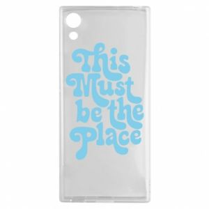 Etui na Sony Xperia XA1 This must be the place