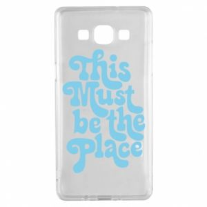 Etui na Samsung A5 2015 This must be the place