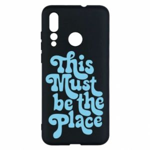 Etui na Huawei Nova 4 This must be the place