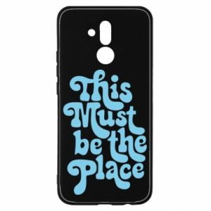 Etui na Huawei Mate 20 Lite This must be the place