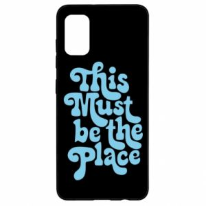 Etui na Samsung A41 This must be the place