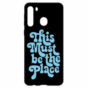 Etui na Samsung A21 This must be the place