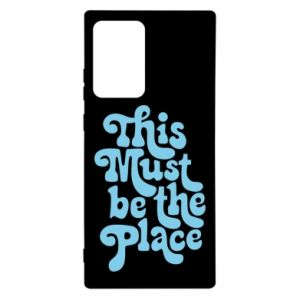Etui na Samsung Note 20 Ultra This must be the place