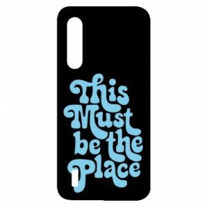 Etui na Xiaomi Mi9 Lite This must be the place