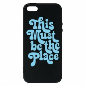 Etui na iPhone 5/5S/SE This must be the place
