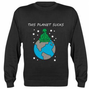 Bluza (raglan) This planet sucks