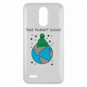 Lg K10 2017 Case This planet sucks
