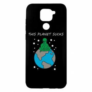 Xiaomi Redmi Note 9 / Redmi 10X case % print% This planet sucks