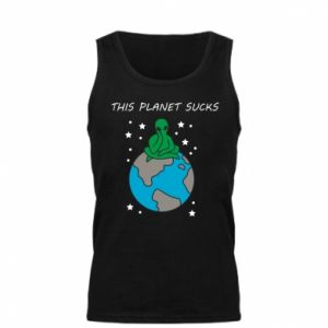 Męska koszulka This planet sucks