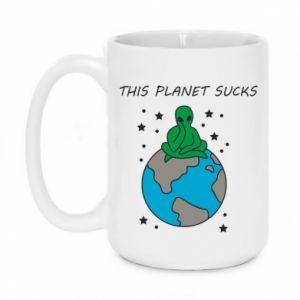Kubek 450ml This planet sucks