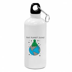 Water bottle This planet sucks