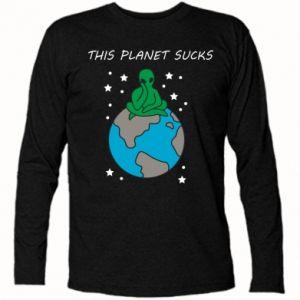 Koszulka z długim rękawem This planet sucks
