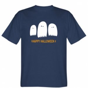 T-shirt Three ghosts Happy halloween - PrintSalon