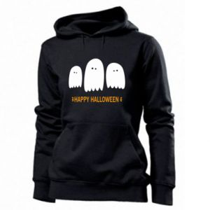 Women's hoodies Three ghosts Happy halloween - PrintSalon