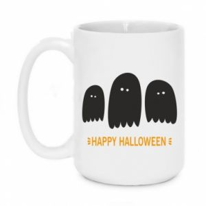 Mug 450ml Three ghosts Happy halloween - PrintSalon
