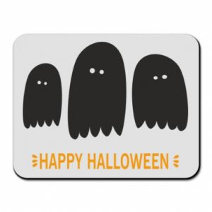 Mouse pad Three ghosts Happy halloween - PrintSalon