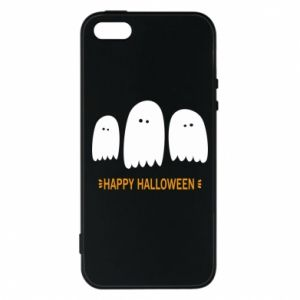 Phone case for iPhone 5/5S/SE Three ghosts Happy halloween - PrintSalon