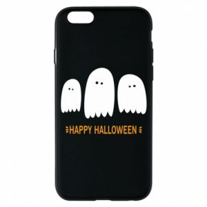 Phone case for iPhone 6/6S Three ghosts Happy halloween - PrintSalon