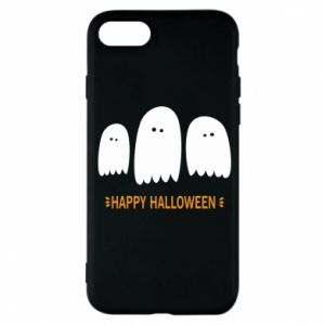 Phone case for iPhone 7 Three ghosts Happy halloween - PrintSalon