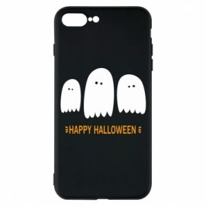 Phone case for iPhone 7 Plus Three ghosts Happy halloween - PrintSalon