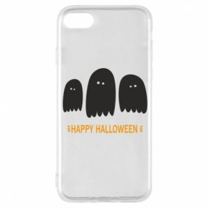 Phone case for iPhone 8 Three ghosts Happy halloween - PrintSalon