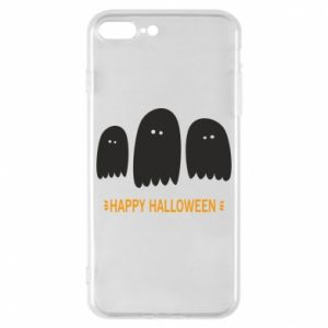 Phone case for iPhone 8 Plus Three ghosts Happy halloween - PrintSalon