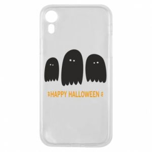 Phone case for iPhone XR Three ghosts Happy halloween - PrintSalon