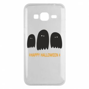 Phone case for Samsung J3 2016 Three ghosts Happy halloween - PrintSalon
