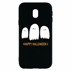 Phone case for Samsung J3 2017 Three ghosts Happy halloween