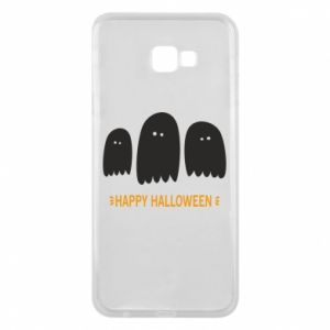Phone case for Samsung J4 Plus 2018 Three ghosts Happy halloween - PrintSalon