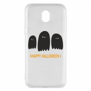 Phone case for Samsung J5 2017 Three ghosts Happy halloween - PrintSalon