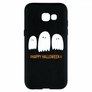 Phone case for Samsung A5 2017 Three ghosts Happy halloween - PrintSalon
