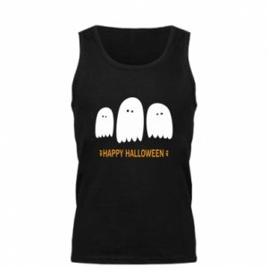 Men's t-shirt Three ghosts Happy halloween