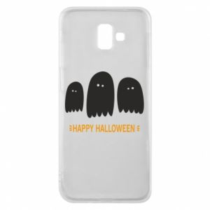 Phone case for Samsung J6 Plus 2018 Three ghosts Happy halloween - PrintSalon