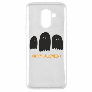 Phone case for Samsung A6+ 2018 Three ghosts Happy halloween - PrintSalon