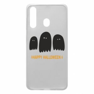 Phone case for Samsung A60 Three ghosts Happy halloween - PrintSalon