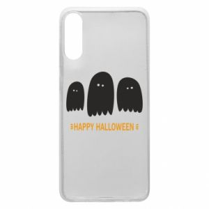 Phone case for Samsung A70 Three ghosts Happy halloween - PrintSalon