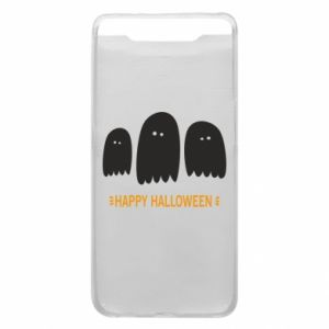 Phone case for Samsung A80 Three ghosts Happy halloween - PrintSalon