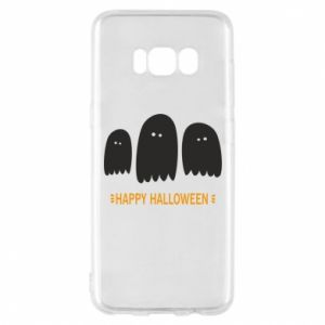 Phone case for Samsung S8 Three ghosts Happy halloween - PrintSalon