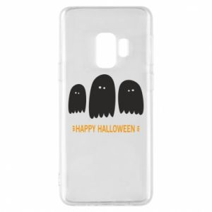 Phone case for Samsung S9 Three ghosts Happy halloween - PrintSalon