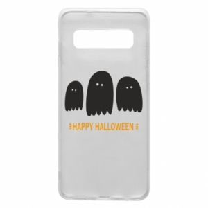 Phone case for Samsung S10 Three ghosts Happy halloween - PrintSalon