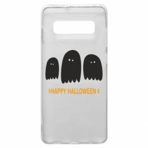 Phone case for Samsung S10+ Three ghosts Happy halloween - PrintSalon