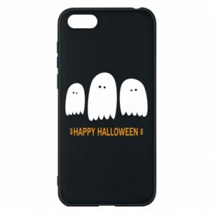 Phone case for Huawei Y5 2018 Three ghosts Happy halloween - PrintSalon