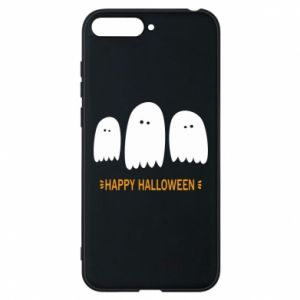 Phone case for Huawei Y6 2018 Three ghosts Happy halloween - PrintSalon