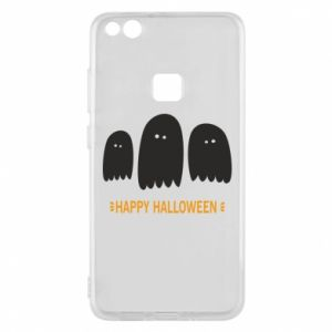 Phone case for Huawei P10 Lite Three ghosts Happy halloween - PrintSalon